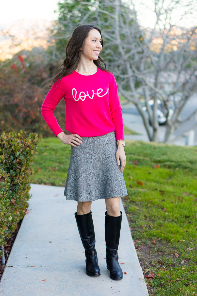 820dfbb46 Valentine s Day Outfit Three Ways + 9 Pink