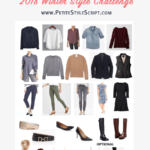 Winter Style Challenge // 25-Piece Winter Capsule Wardrobe