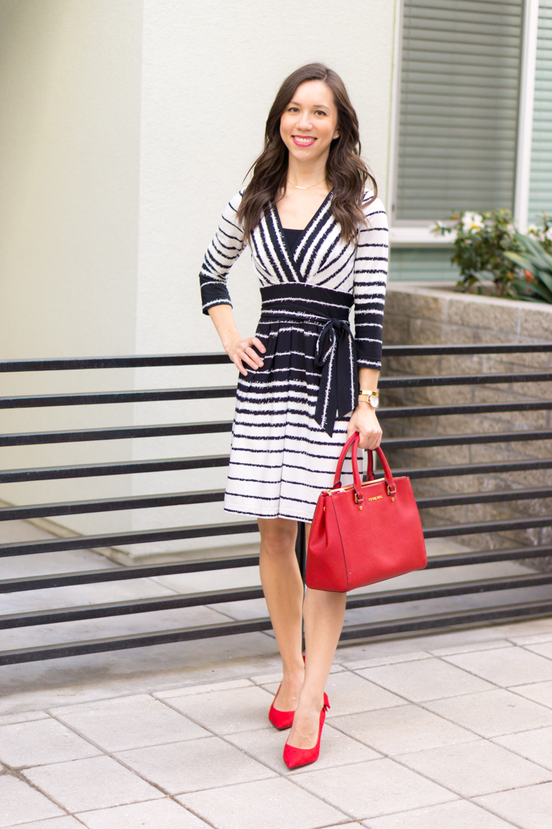 007792153db0 How to Style a Wrap Dress - 5 Outfit Ideas for this Wardrobe Essential