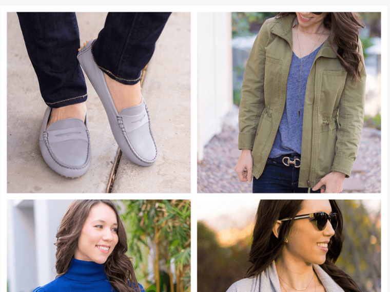 President's Day Weekend Sales, M. Gemi Review, Pastoso review, loafers, blush pink flats, moccasins, light gray, Felize loafers, white denim, scallop top, J. Crew Factory scallop cami, caslon jacket