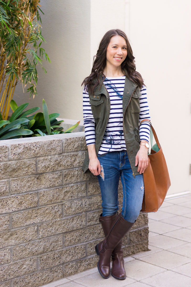 How To Style A Utility Vest Petite Style Script