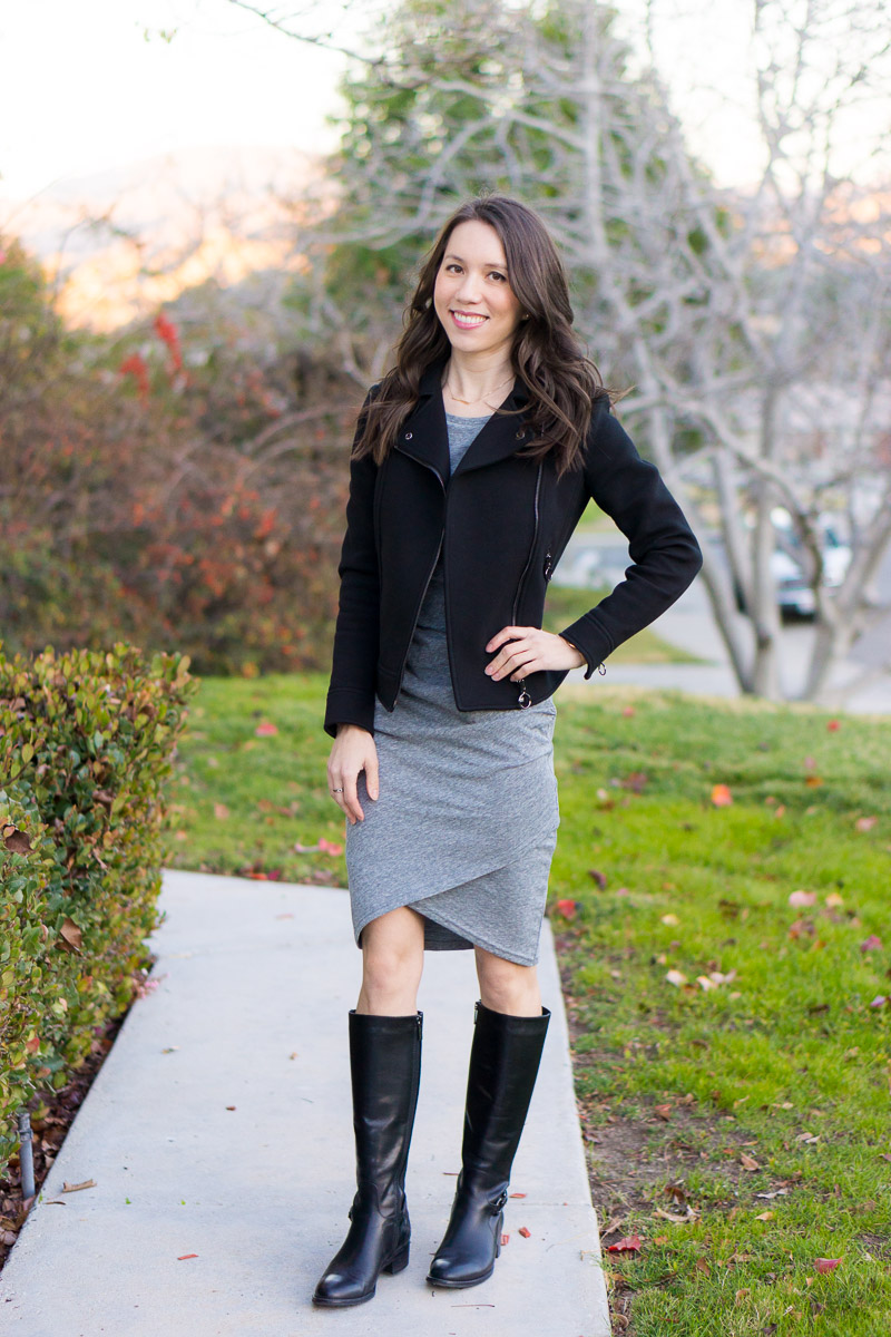 2ea0cdfab3f7 Boots: Aquatalia Size 6 (similar here or here + winter socks I love with  discount code) Scarf: Nordstrom (similar here for cozy look or ...