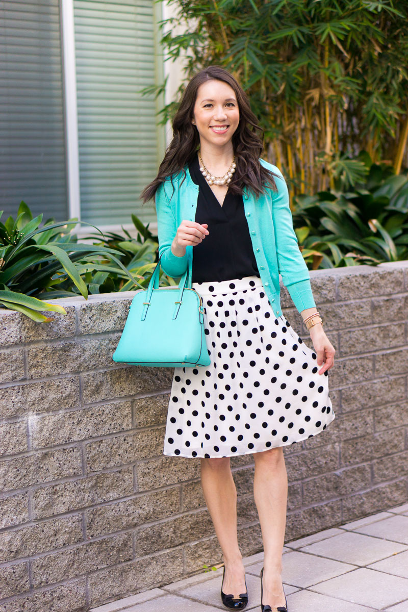 e1c1bffe7 How to Wear Polka Dots & Mint Green this Spring + 12 Affordable Pieces