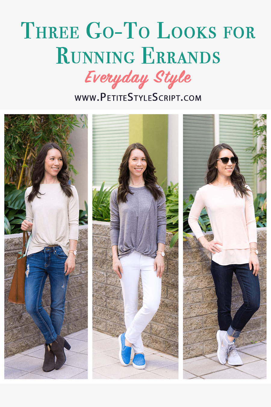 22ab3b386d6 Three Go-To Looks for Running Errands - Petite Style Script